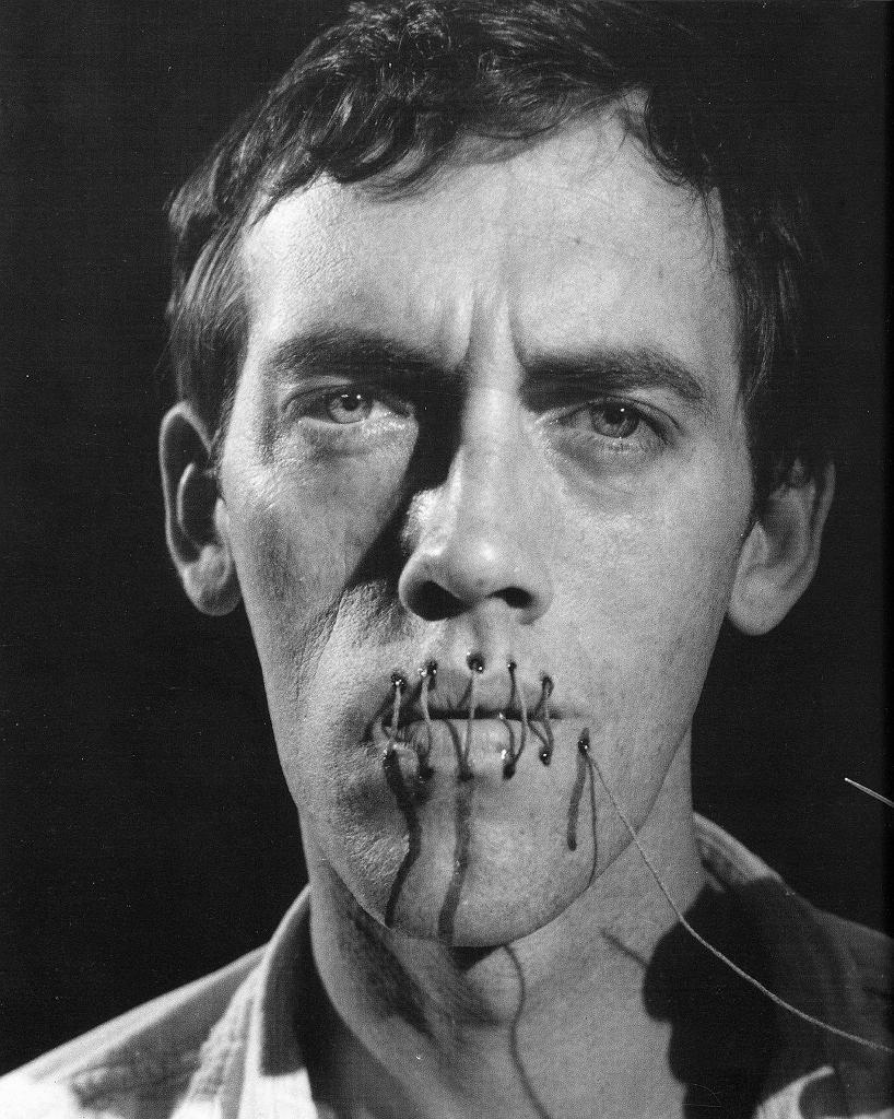 Andreas Sterzing, David Wojnarowicz (Cisza = Śmierć), 1989/2014 / Dzięki uprzejmości PPOW Gallery, Nowy Jork