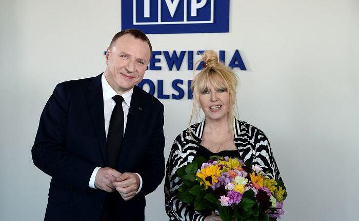 Jacek Kurski i Maryla Rodowicz