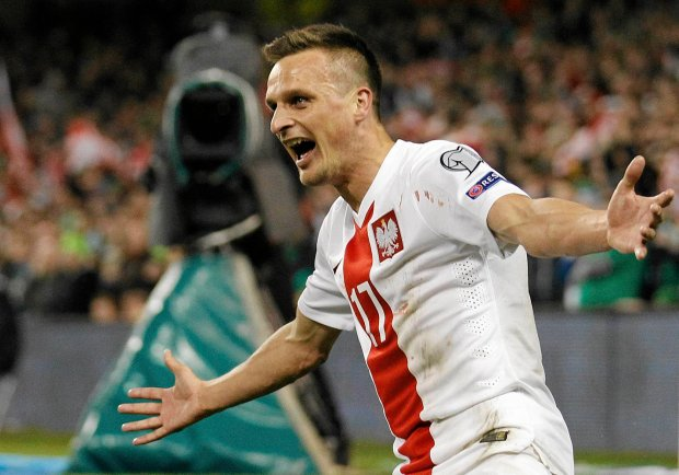 Polska zremisowa�a z Irlandi� 1:1 po golu by�ego pi�karza Lecha Pozna�