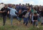 """My�la�a przez dwa dni i ju� wie, dlaczego kopa�a uchod�c�w. Petra Laszlo: """"Musia�am si� broni�"""""""