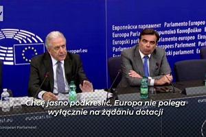 """""""Europa nie polega wyłącznie na żadaniu dotacji"""". Komisja rozpoczyna procedurę przeciwko Polsce"""