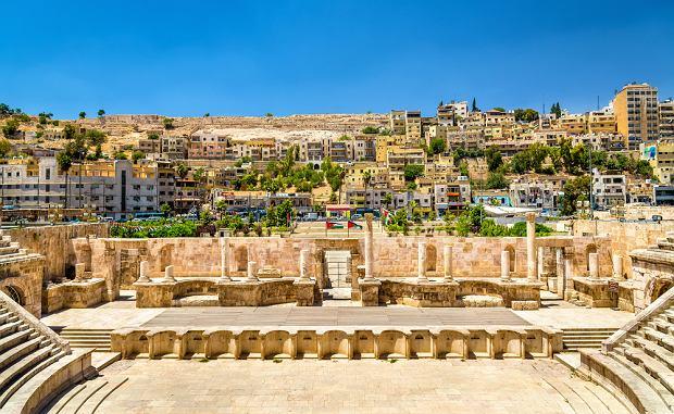 Teatr rzymski w Ammanie, jedna z głównych atrakcji miasta