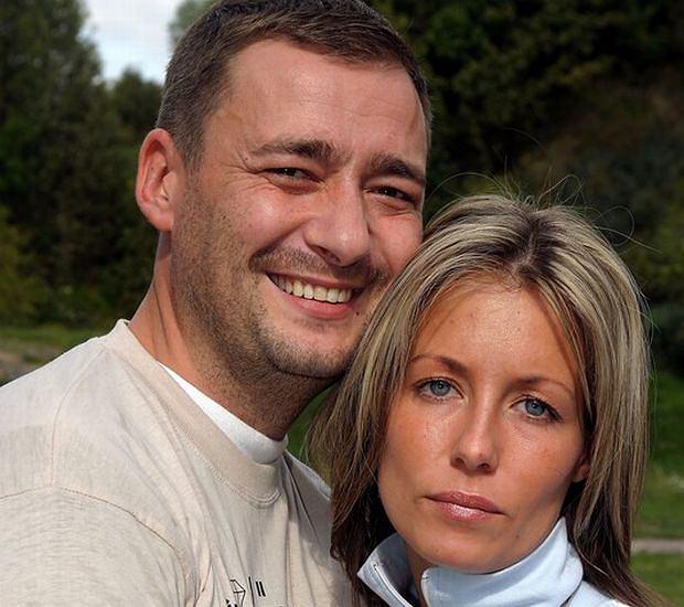 Małgorzata Rozenek z mężem Jackiem Rozenkiem.