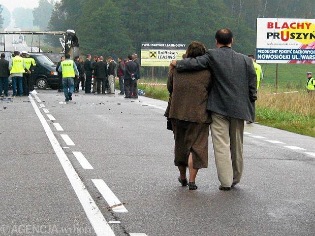 Głośna sprawa wypadku autokaru z uczniami w drodze do Częstochowy. Są wyroki