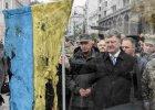 Prezydent Poroszenko w Kijowie podczas wystawy sprzętu wojskowego