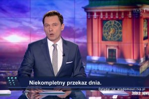 """Parodia """"Wiadomo�ci"""" TVP autorstwa Jacka Fedorowicza i .Nowoczesnej"""
