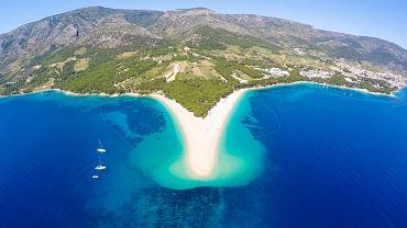 To jedna z najczęściej fotografowanych plaż w Chorwacji