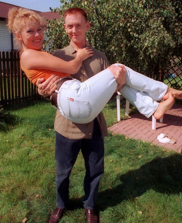 Anna Samusionek i Paweł Burczyk