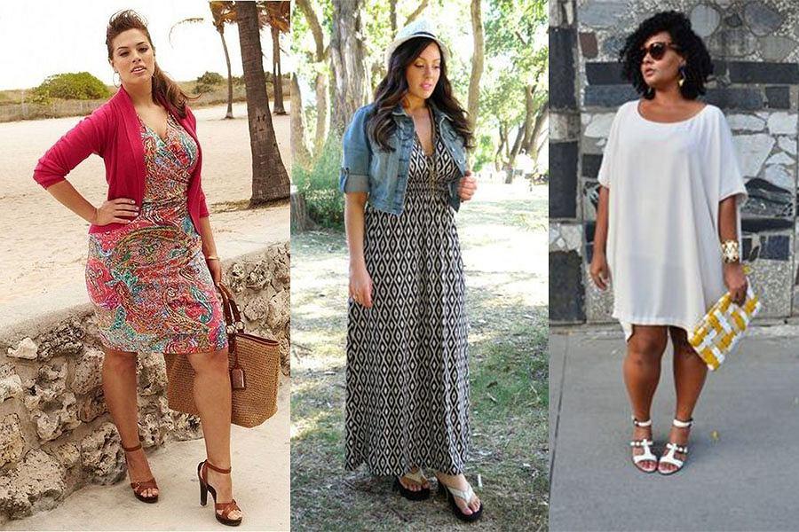 b07ebbd6dd Sukienki plus size na lato - propozycje na różne sylwetki w ...