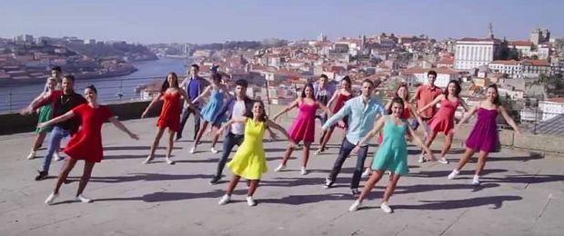 """""""La La Land"""" to tylko film? W Porto to radosna codzienność! Ten  flash mob będzie hitem internetu"""