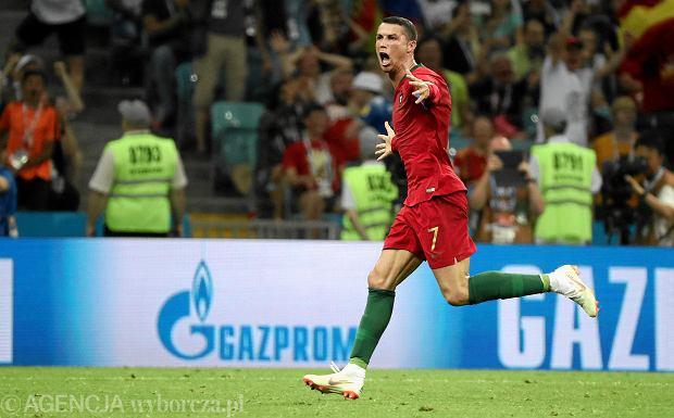 7557f238c Mistrzostwa świata w piłce nożnej. Portugalia - Hiszpania. Ronaldo ...