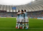 """Nigeria - Argentyna. """"Albicelestes"""" wygrali grupę po dwóch golach Messiego"""