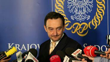 Prezes sądu, członek nowej Krajowej Rady Sądownictwa i jej rzecznik Maciej Mitera
