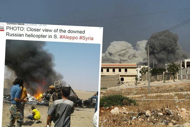 Rosyjski helikopter zestrzelony w Syrii
