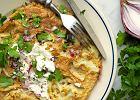 Pikantny omlet z kalafiorem. Dostarczy organizmowi witamin z grupy B i sulforafanu