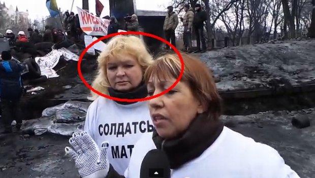 Demonstracja matek żołnierzy