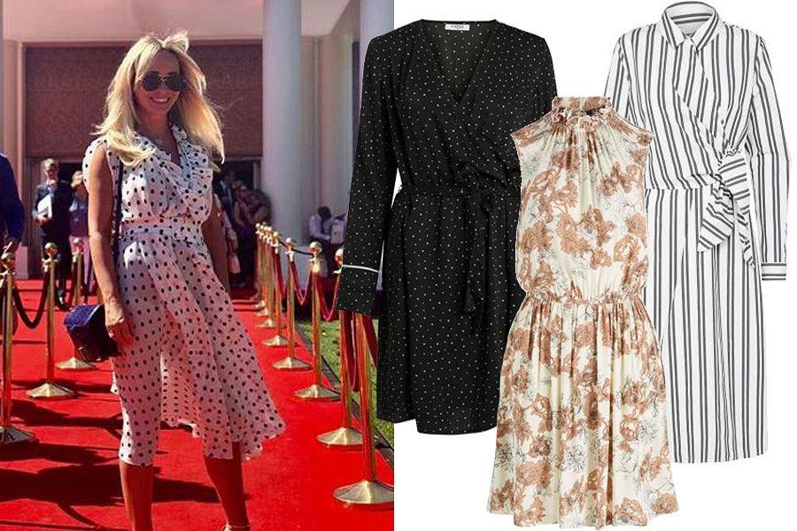 1ed7760b45 Eleganckie sukienki dla 50-latki. Modne i kobiece fasony na różne ...