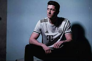 59760f832 Bayern Monachium pokazał wyjazdowe koszulki. Robert Lewandowski modelem