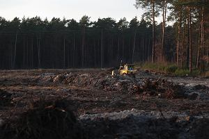 """Oprotestowali nową zgodę na trwającą budowę """"siódemki"""" koło Skarżyska"""
