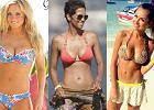 Ten widok na pewno poprawi Wam humor! Pi�kne piersi gwiazd w bikini!