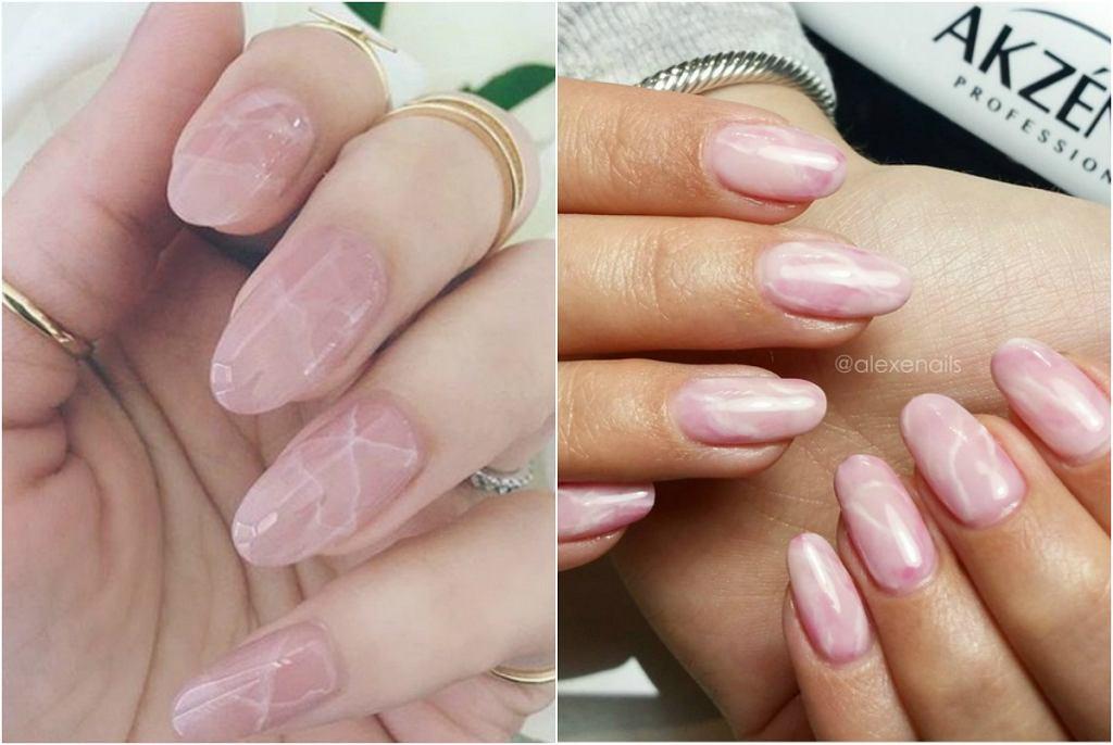 Kwarcowe paznokcie - najnowszy trend internetu