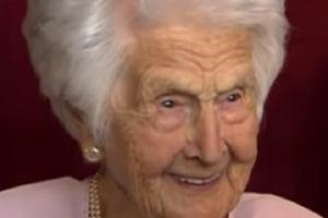 Ma 109 lat! Jaka jest jej recepta na długowieczność? Przed snem robi jedną rzecz...