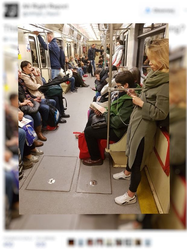 Zdjęcie warszawskiego metra