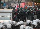 """Policja: po """"Marszu Niepodległości"""" zatrzymano 72 osoby"""