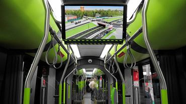 Tramwaj solaris tramino w Olsztynie