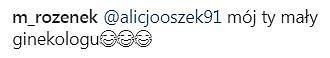 Screen z Instagrama Małgorzaty Rozenek-Majdan