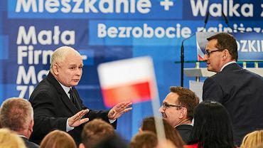 Prezes Jarosław Kaczyński był obecny dzisiaj na konwencji Prawa i Sprawiedliwości w Białymstoku / Zdjęcie ilustracyjne