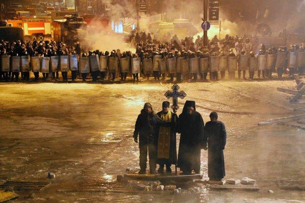 Majdan w czwartkowej nocy