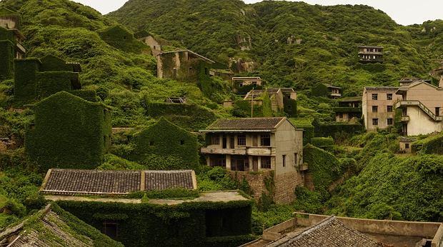 Zielona wioska w Chinach. Ludzie stąd wyjechali, więc natura upomniała się o swoje