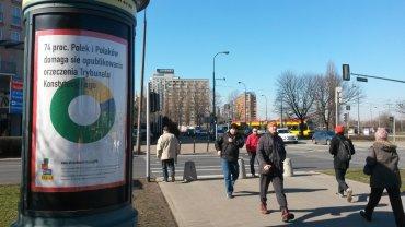 Reklama w obronie Trybunału Konstytucyjnego