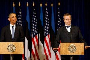 Obama w Estonii: Tallin, Ryga i Wilno s� tak samo wa�ne jak Pary� czy Londyn
