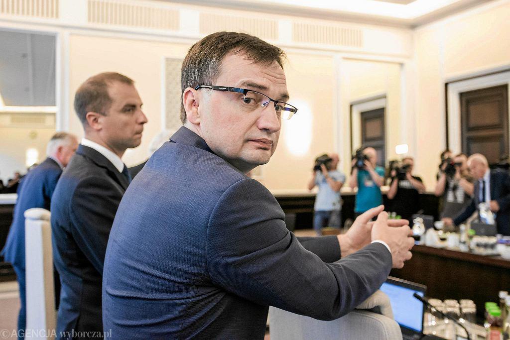 Minister sprawiedliwości Zbigniew Ziobro.