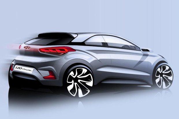 Salon Paryż 2014 | Hyundai i20 Coupe