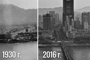 Jak w ciągu 100 lat zmieniły się Chiny? Stare i współczesne zdjęcia [PORÓWNANIE]