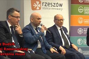 Pracownia miast w Rzeszowie. Prof. Grzegorz Budzik o korzyściach z poszerzania miast