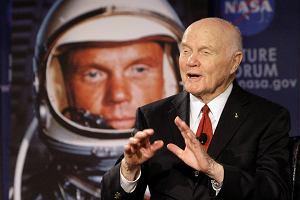 Zmarł John Glenn, astronauta i polityk. Drugi - po Gagarinie - człowiek na orbicie i najstarszy, który poleciał w kosmos