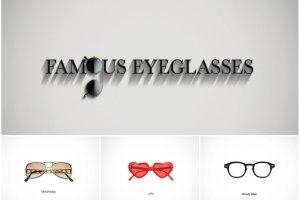 """""""Famous Eyeglasses"""" - kultowe okulary. Jakie oprawki na zawsze zapisa�y si� w historii mody?"""
