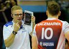 Trener Tomasz Wasilkowski z MKS Będzin