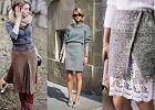 Dzianinowe spódnice - z czym je nosić, żeby wyglądać stylowo?