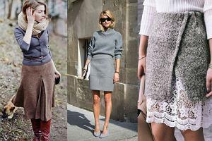 17a7047fa78b9e Dzianinowe spódnice - z czym je nosić, żeby wyglądać stylowo?