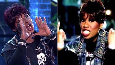 Kacper Kuszewski jako Missy Elliott w 'Twoja Twarz Brzmi Znajomo' / Missy Elliott 'Get Ur Freak On' screen z teledysku