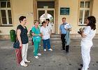 Protest pielęgniarek ze szpitala wojskowego