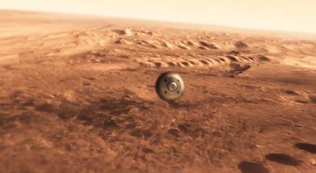 Siedem minut horroru - jak NASA widzi l�dowanie na Marsie