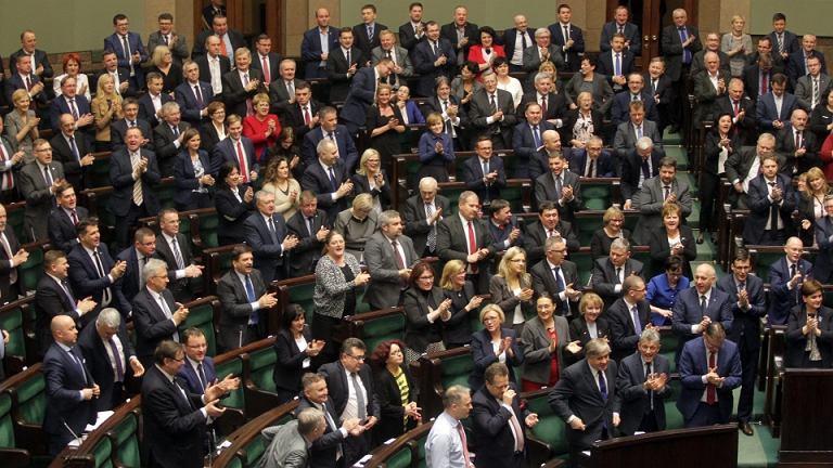 Posiedzenie Sejmu VIII kadencji