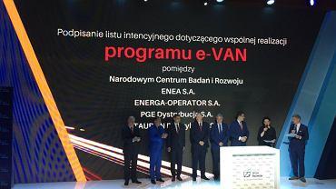 Podpisanie listu intencyjnego ws. e-VAN