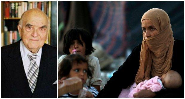 George Weidenfeld pomaga uchod�com z Syrii i Iraku
